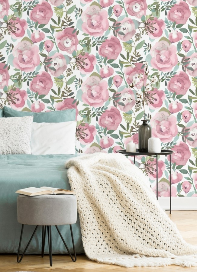 Papel pintado Camellias Garden 680626 Camellias Garden 680626