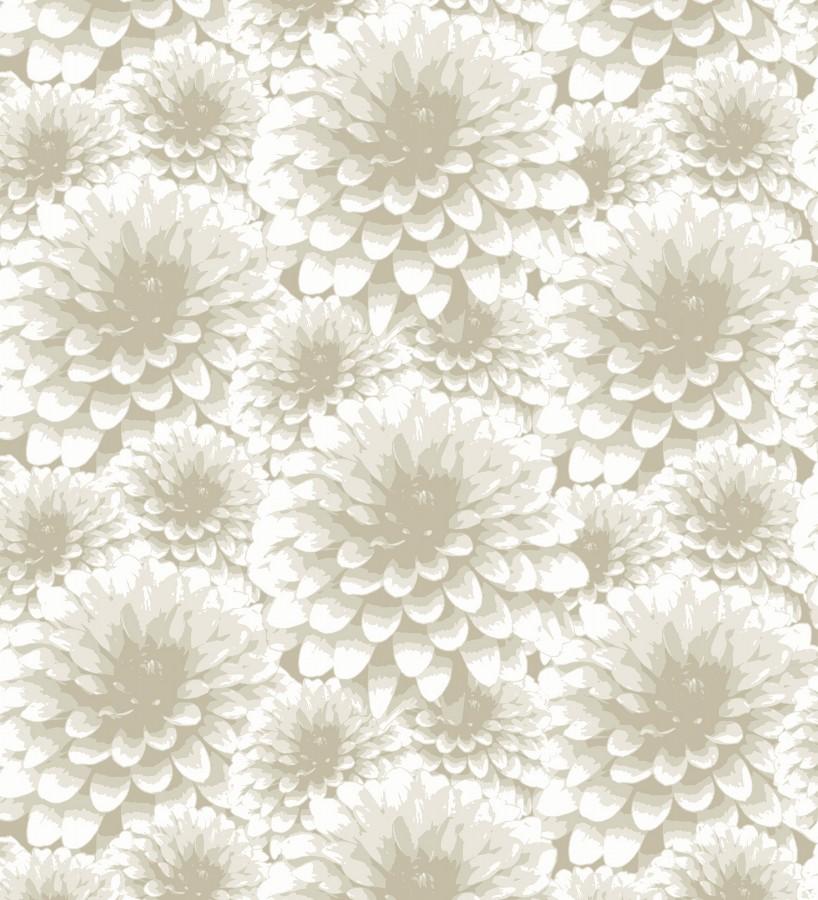 Papel pintado flores de dalias estilo nórdicos Morris Flowers 680660