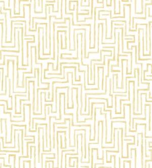Papel pintado abstracto de formas de laberinto Nevinson 680682