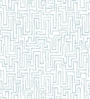 Papel pintado abstracto de formas de laberinto Nevinson 680683