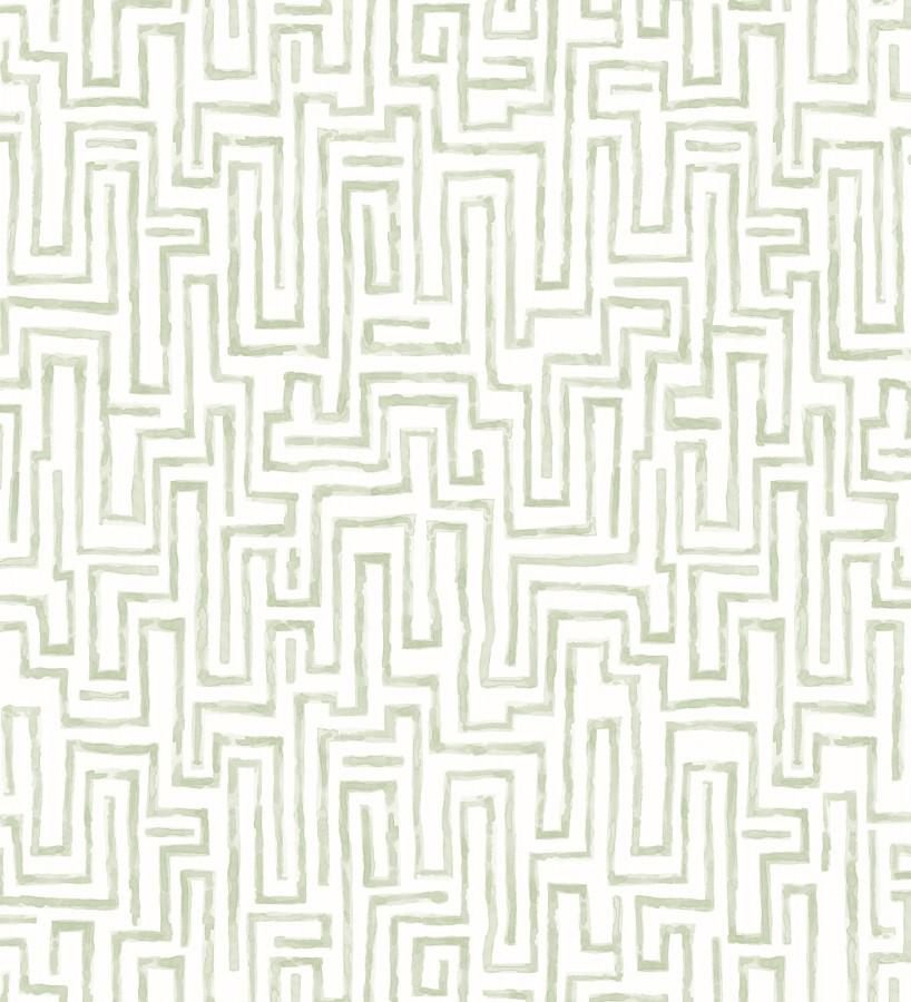 Papel pintado abstracto de formas de laberinto Nevinson 680684