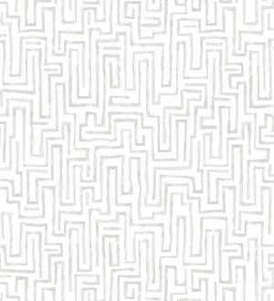 Papel pintado abstracto de formas de laberinto Nevinson 680685