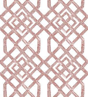 Papel pintado de celosías con dibujo geométrico estilo nórdico Royal Wells 680687