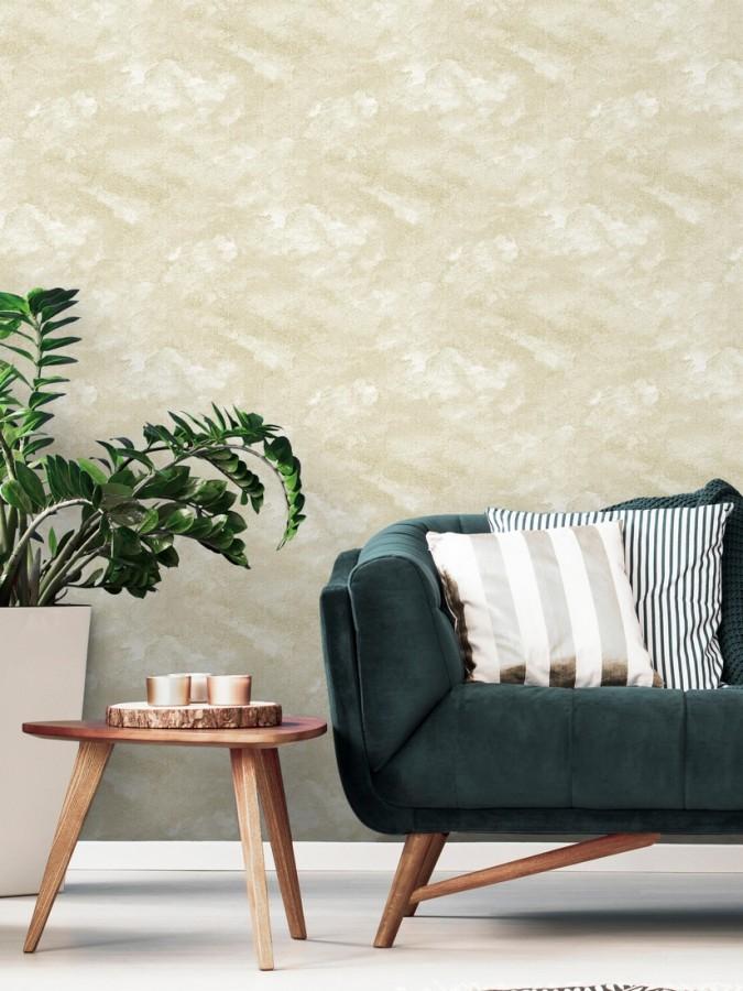Papel pintado moderno con estuco abstracto Norfolk 680694