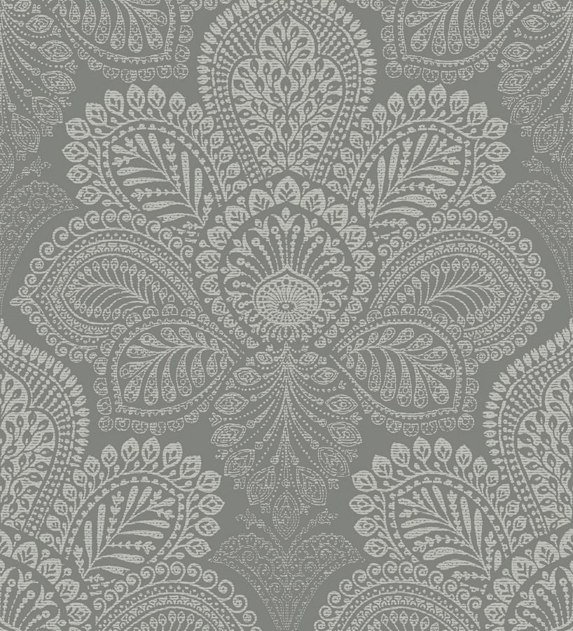 Papel pintado de flores grandes estilo hindú Cardiff Flowers 680710
