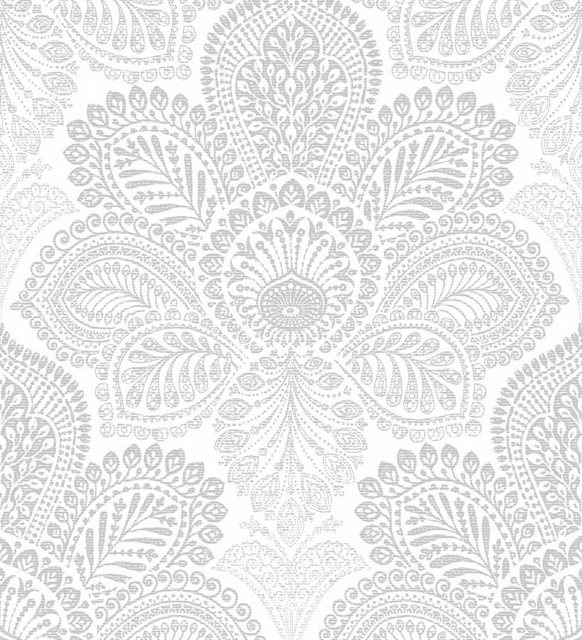 Papel pintado de flores grandes estilo hindú Cardiff Flowers 680712