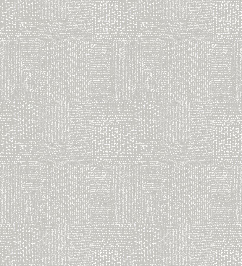 Papel pintado moderno con puntos formado cuadros Reynolds 680720