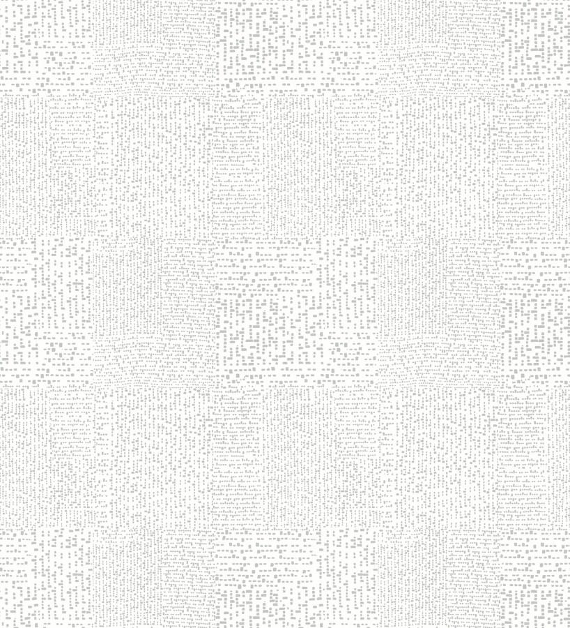Papel pintado moderno con puntos formado cuadros Reynolds 680723