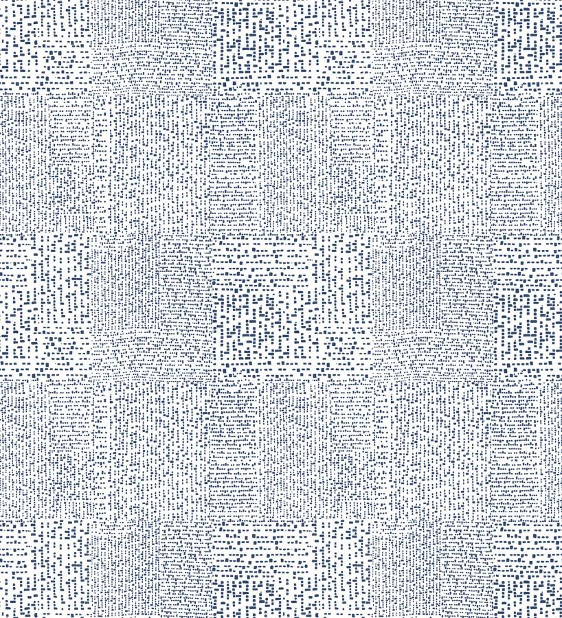 Papel pintado moderno con puntos formado cuadros Reynolds 680724