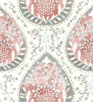 Papel pintado con damascos y colores de estilo hindú Harold Garden 680730