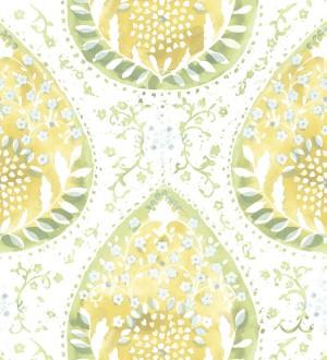 Papel pintado con damascos y colores de estilo hindú Harold Garden 680734