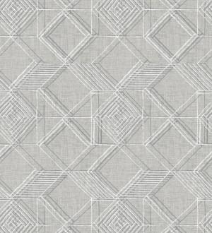 Papel pintado geométrico de cubos estilo boho chic Cubic City 680783