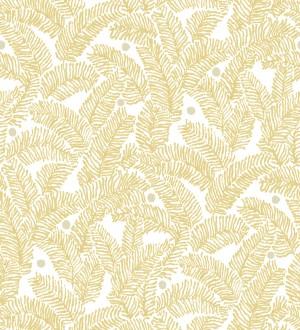 Papel pintado de hojas de pino pequeñas Blossom Forest 680796