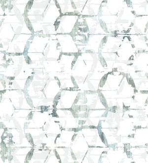 Papel pintado geométrico estilo moderno Rings Gallery 680806