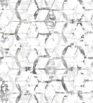 Papel pintado geométrico estilo moderno Rings Gallery 680807