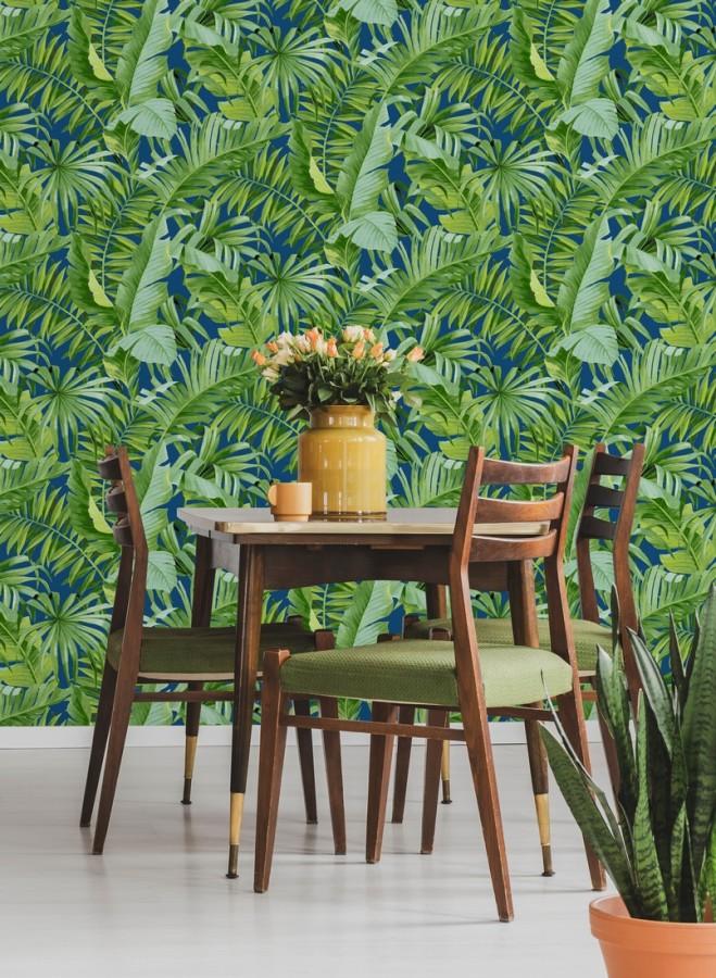 Papel pintado hojas tropicales Indonesia 680820