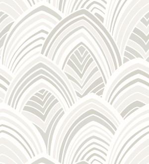 Papel pintado geométrico de arcos de terciopelo Scandi Arches 680823