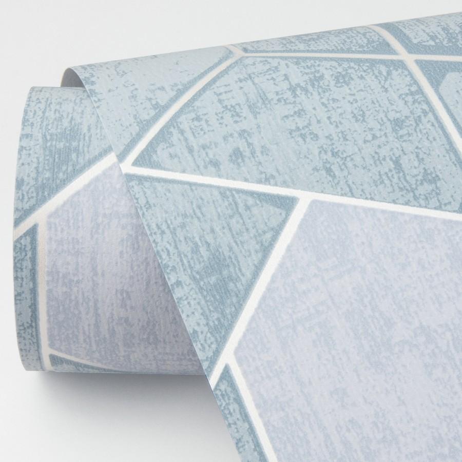 Papel pintado hexágonos geométricos modernos Albert Museum 680829