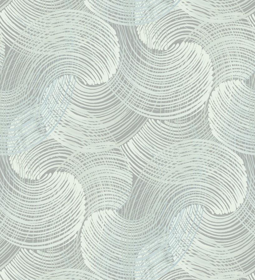 Papel pintado moderno de ondas Dickson Waves 680833