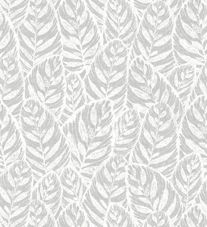 Papel pintado de silueta de hojas Lost Garden 680846