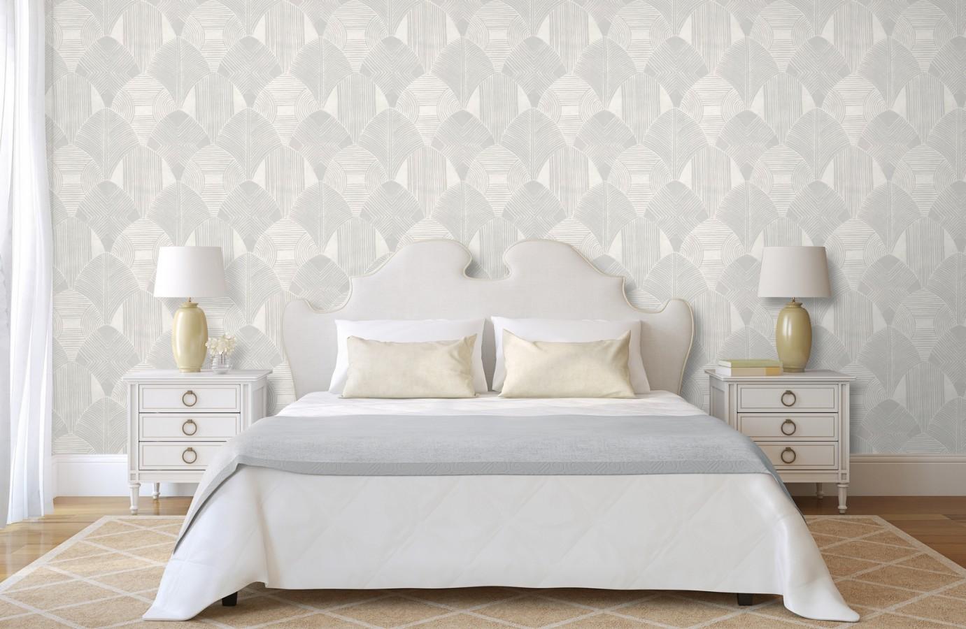 Papel pintado geométrico de estilo étnico Beirut Palace 680851