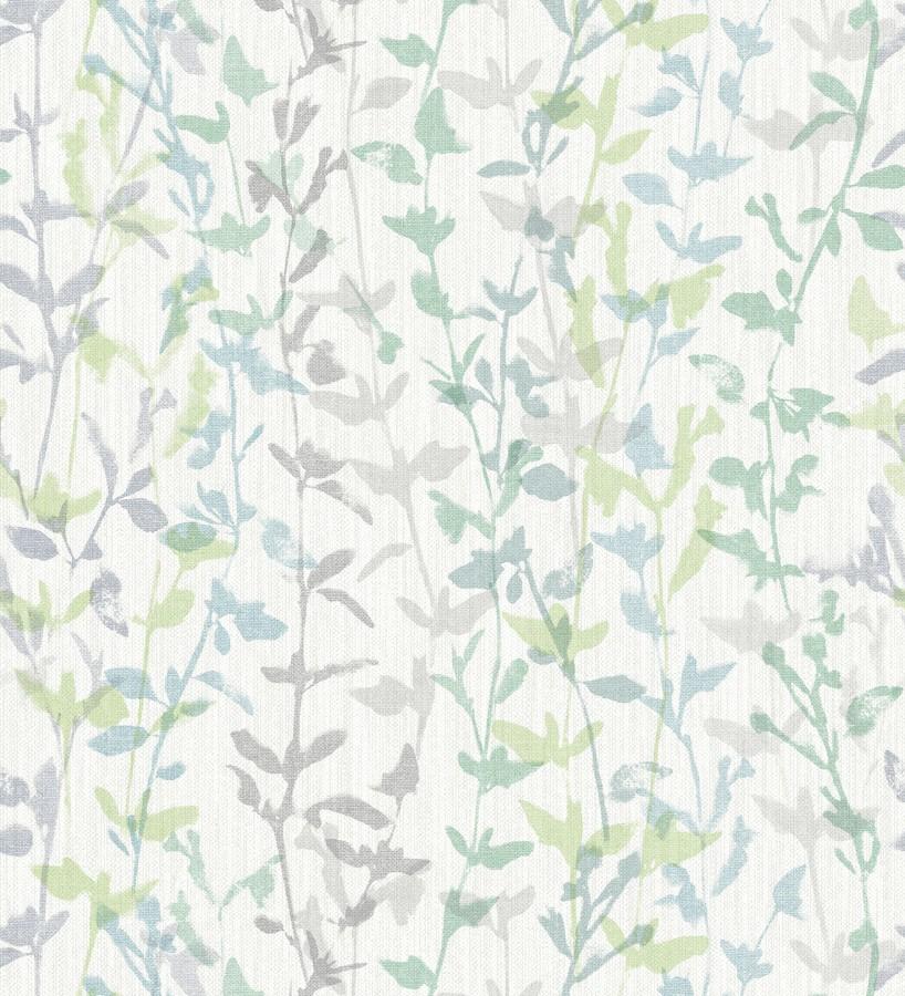 Papel pintado de ramas delgadas y hojas pequeñas Elva Forest 680856