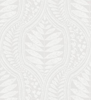 Papel pintado gran damasco con hojas hindú Scandi Palace 680862