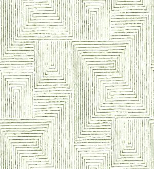 Papel pintado geométrico de laberinto de estilo moderno Wallace Hall 680868