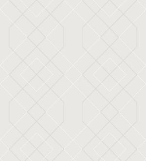Papel pintado geométrico de líneas con cristales de gel estilo art deco Hampton 680886