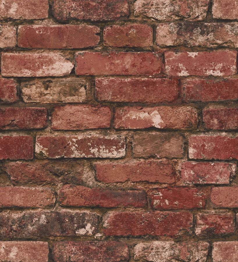 Papel pintado muro de ladrillos rojo inglés Manchester Break 680894