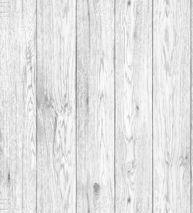 Papel pintado listones de madera blanca vetas grises Channel Wood 680896