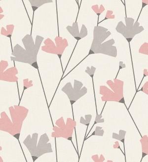Papel pintado de flores silvestres estilo nórdico Sophie Garden 680915