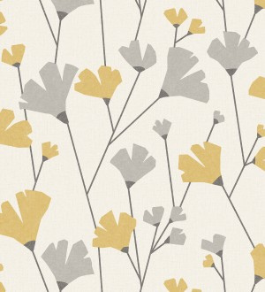 Papel pintado de flores silvestres estilo nórdico Sophie Garden 680923