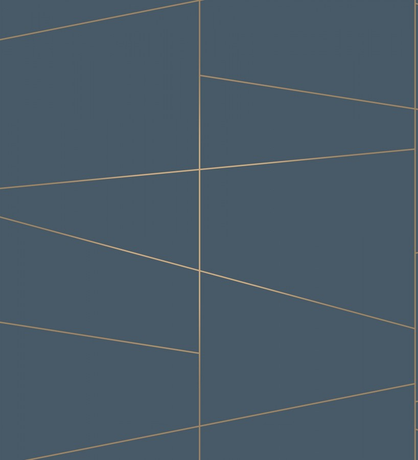 Papel pintado geométrico lineas metalizadas estilo Art déco Luxury Lines 680947