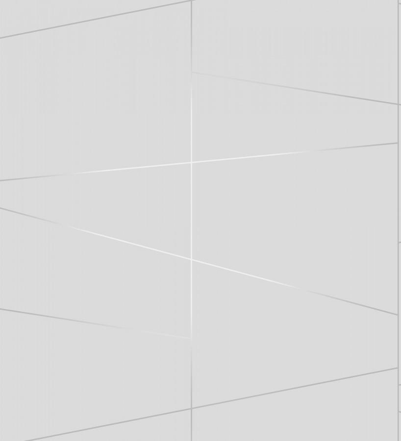 Papel pintado geométrico lineas metalizadas estilo Art déco Luxury Lines 680949