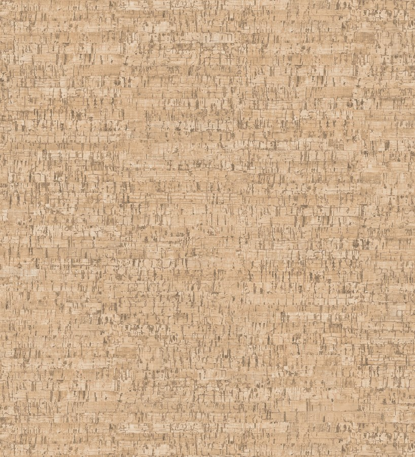 Papel pintado imitación corcho texturizado tonos marrones Mileto 679348