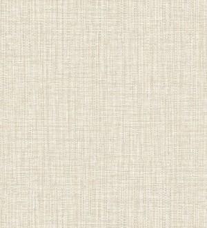 Papel pintado con textura textil tonos blancos y beiges Tamil Fabric 679360