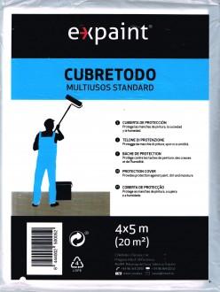 Plástico de densidad media para proteger o cubrir muebles Cubretodo Expaint Plast 603