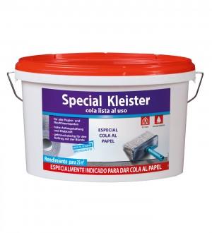Cola lista al uso especial para aplicar al soporte del papel pintado Cola lista al uso Kleister 606