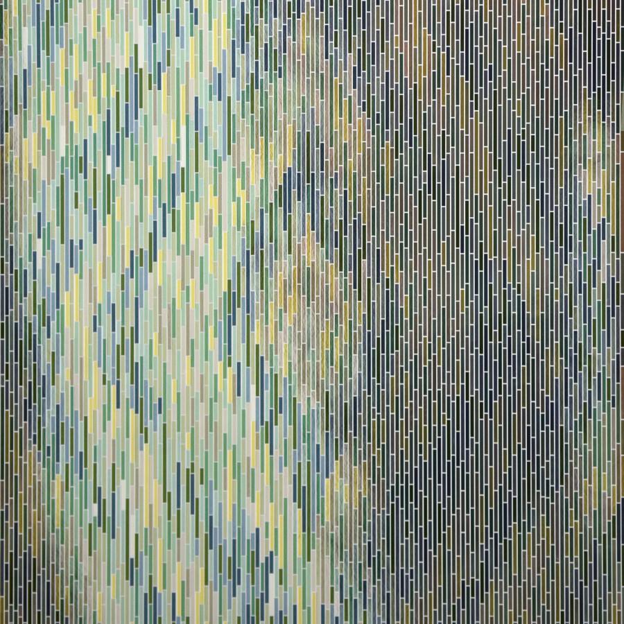Papel pintado damascos a trazos geométricos estilo moderno Tarek Modern 679470