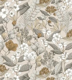 Papel pintado Caselio Flower Power - 101851099