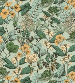 Papel pintado Caselio Flower Power - 101857129