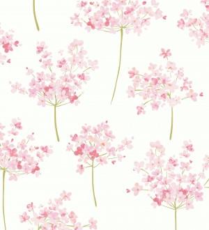 Papel pintado ramilletes de flores de acuarela Layla Flowers 126465