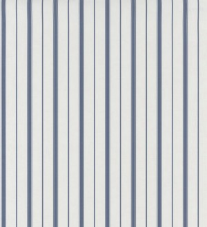 Papel pintado rayas estrechas desiguales azul Port Stripes 126574