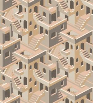 Papel pintado estructura de edificio art deco Zadir 126646