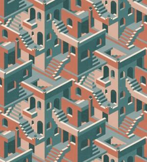 Papel pintado estructura de edificio art deco Zadir 126647