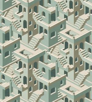 Papel pintado estructura de edificio art deco Zadir 126648