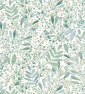 Papel pintado ramilletes de hojas Elowen Forest 126751