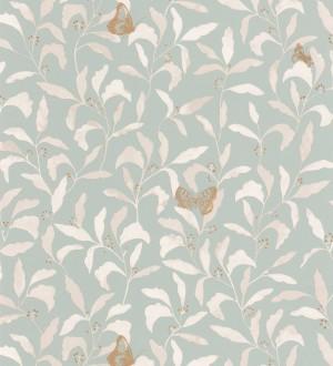 Papel pintado hojas y mariposas Monet Country 126762