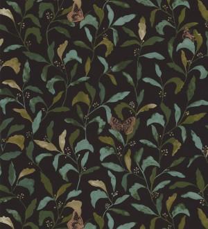 Papel pintado hojas y mariposas Monet Country 126763